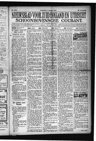 Schoonhovensche Courant 1928-01-09
