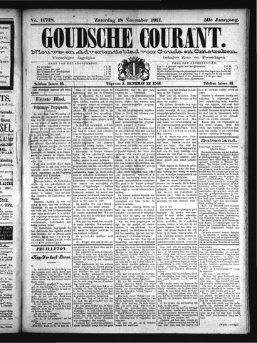 Goudsche Courant 1911-11-18