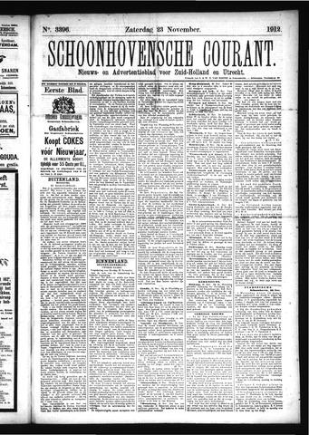 Schoonhovensche Courant 1912-11-23