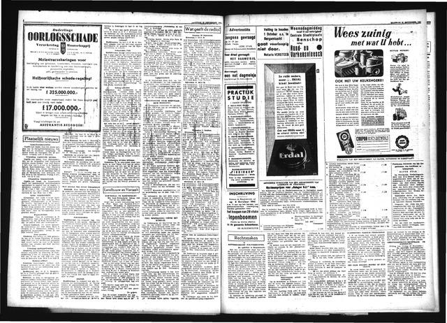 Schoonhovensche Courant 1940-09-29