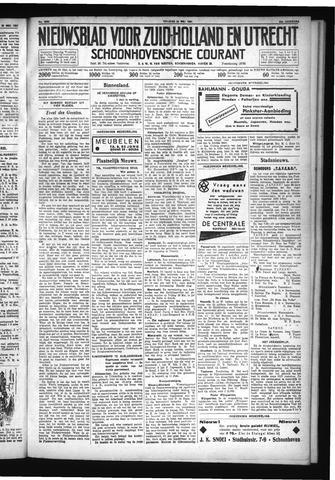 Schoonhovensche Courant 1931-05-22