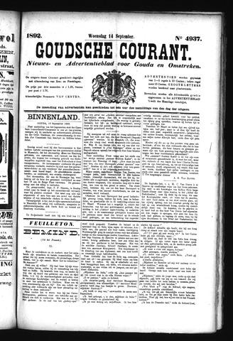 Goudsche Courant 1892-09-14