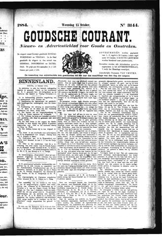 Goudsche Courant 1884-10-15