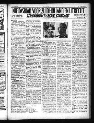 Schoonhovensche Courant 1947-04-09