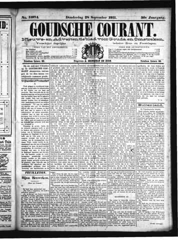 Goudsche Courant 1911-09-28