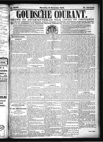 Goudsche Courant 1922-11-13