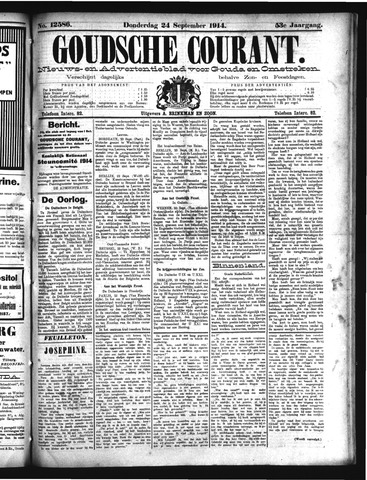 Goudsche Courant 1914-09-24