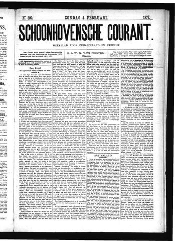 Schoonhovensche Courant 1877-02-04
