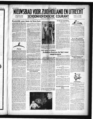 Schoonhovensche Courant 1952-04-07