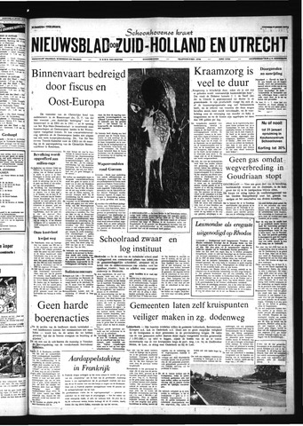 Schoonhovensche Courant 1973-01-24