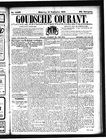 Goudsche Courant 1919-09-15