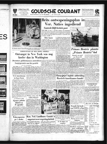 Goudsche Courant 1959-09-18