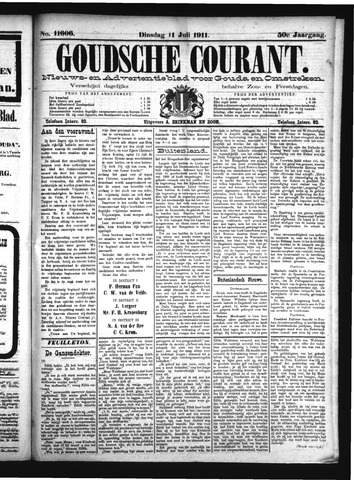 Goudsche Courant 1911-07-11