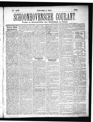 Schoonhovensche Courant 1910-06-04