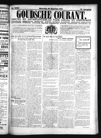 Goudsche Courant 1934-08-20