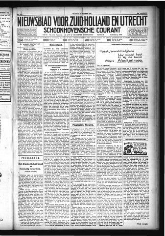 Schoonhovensche Courant 1929-10-28