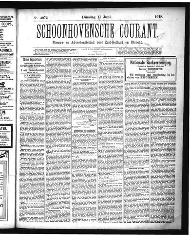 Schoonhovensche Courant 1918-06-11