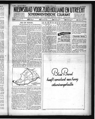 Schoonhovensche Courant 1936-02-14
