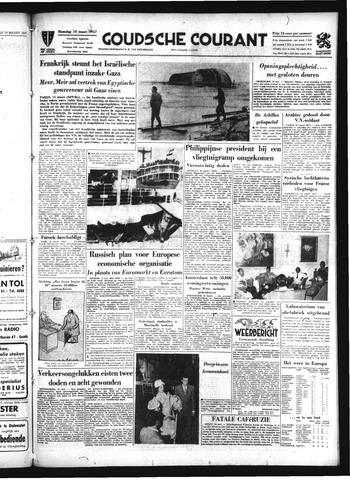 Goudsche Courant 1957-03-18