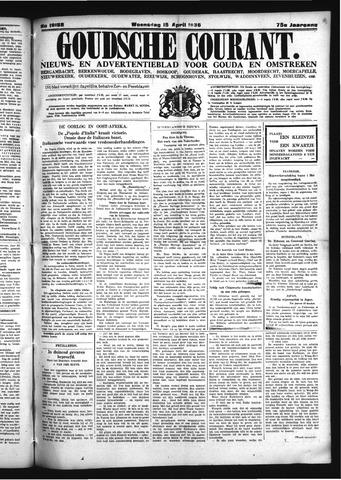 Goudsche Courant 1936-04-15