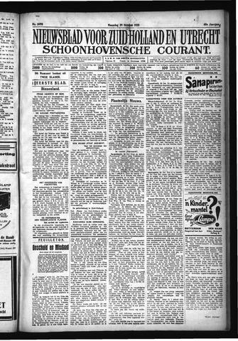 Schoonhovensche Courant 1928-10-29