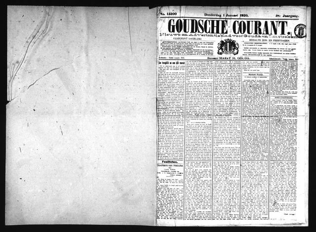 Goudsche Courant 1920-01-01