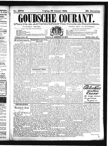 Goudsche Courant 1912-01-26