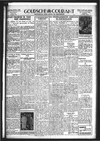 Goudsche Courant 1943-11-25