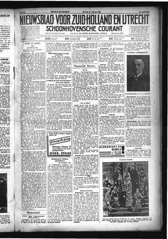 Schoonhovensche Courant 1933-01-20