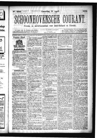 Schoonhovensche Courant 1912-04-13