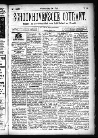 Schoonhovensche Courant 1913-07-16