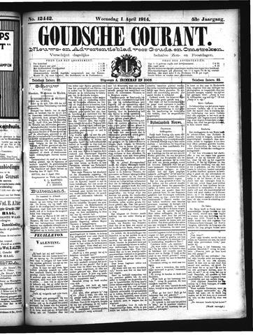Goudsche Courant 1914-04-01