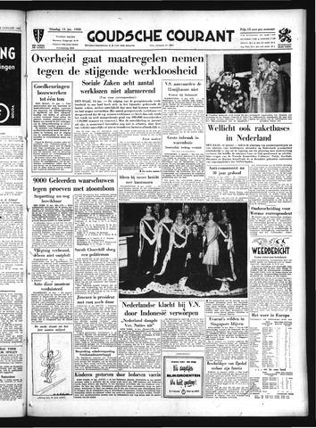Goudsche Courant 1958-01-14