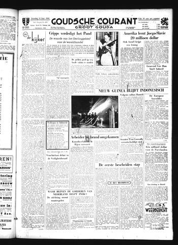 Goudsche Courant 1949-09-10