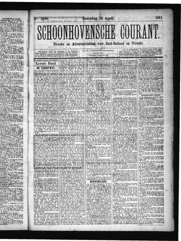 Schoonhovensche Courant 1911-04-15