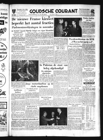 Goudsche Courant 1958-10-08