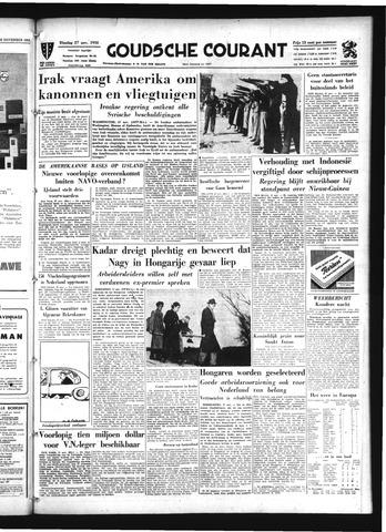 Goudsche Courant 1956-11-27