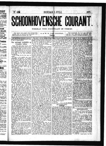 Schoonhovensche Courant 1877-07-01