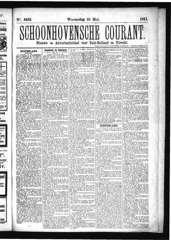 Schoonhovensche Courant 1911-05-10