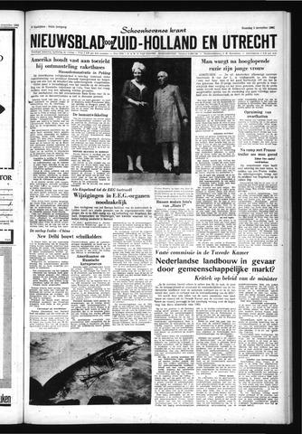 Schoonhovensche Courant 1962-11-05