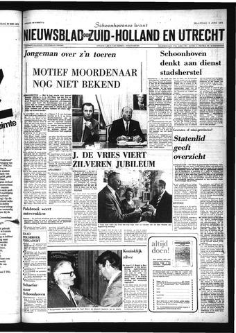 Schoonhovensche Courant 1975-06-02