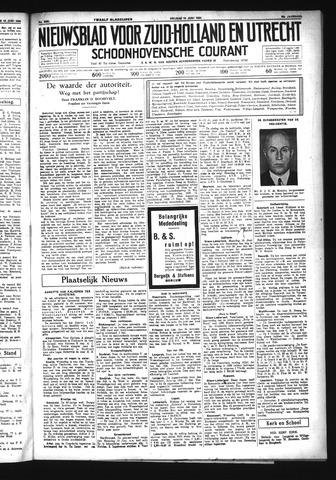 Schoonhovensche Courant 1934-06-15