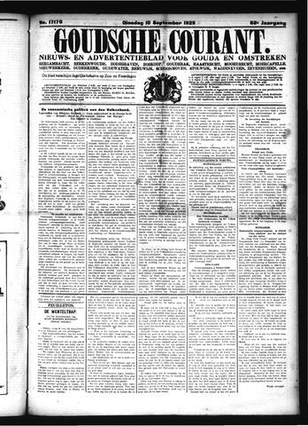 Goudsche Courant 1929-09-10