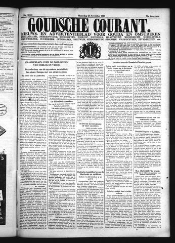 Goudsche Courant 1939-11-27