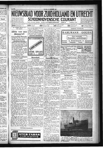 Schoonhovensche Courant 1929-11-15