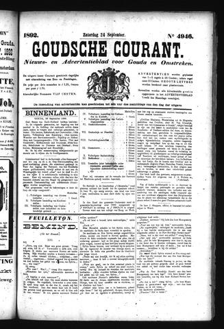 Goudsche Courant 1892-09-24