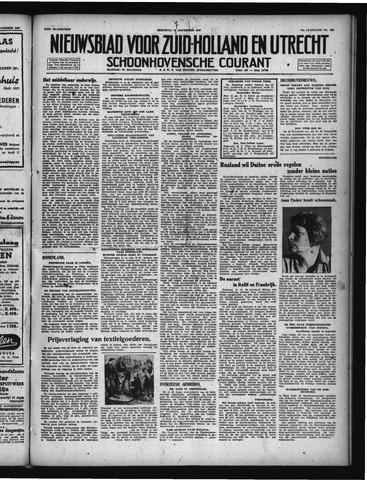 Schoonhovensche Courant 1947-11-17