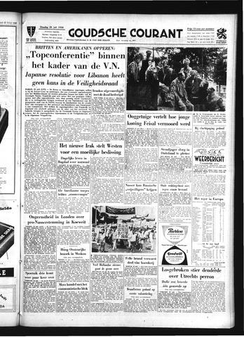 Goudsche Courant 1958-07-22