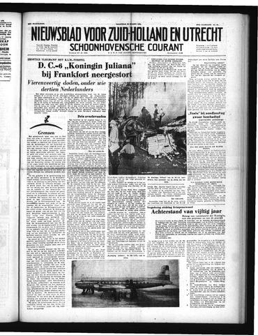 Schoonhovensche Courant 1952-03-24