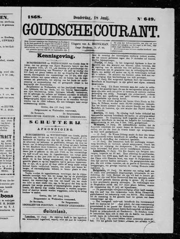 Goudsche Courant 1868-06-18